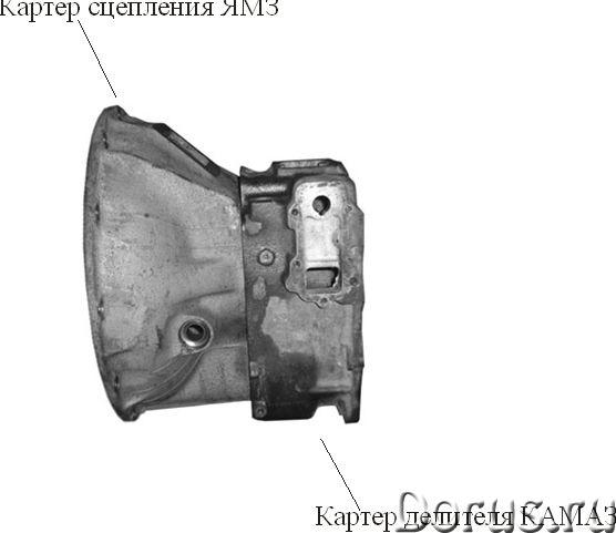 Камаз запчасть - Запчасти и аксессуары - Крепление для двигателя ямз на раму КамАЗ с переходником -..., фото 4