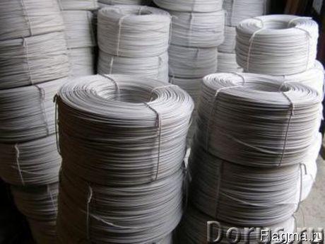 Провод прогрева бетона и грунта - Материалы для строительства - Провод в изоляции,диаметр 1,2 мм. бу..., фото 1