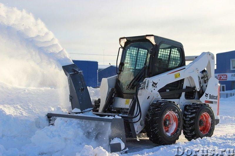 Снегоуборщик роторный (шнекоротор) для мини-погрузчика - Запчасти и аксессуары - Предлагаем снегоубо..., фото 4