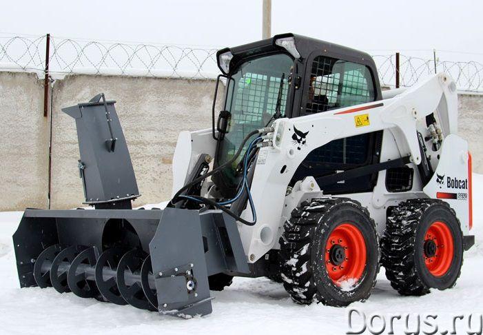 Снегоуборщик роторный (шнекоротор) для мини-погрузчика - Запчасти и аксессуары - Предлагаем снегоубо..., фото 5